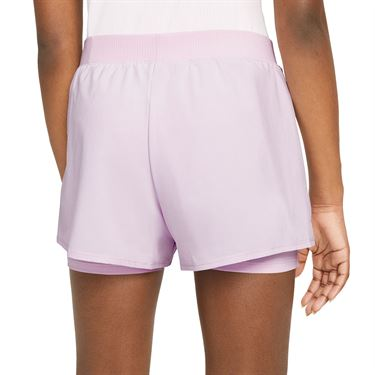 Nike Court Girls Dri Fit Victory Shorts Regal Pink/Black DB5612 695