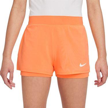 Nike Court Girls Dri Fit Victory Short Peach Cream/White DB5612 811