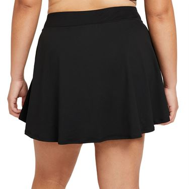 Nike Court Victory Skirt Extended/Plus Size Womens Black/White DB6604 010