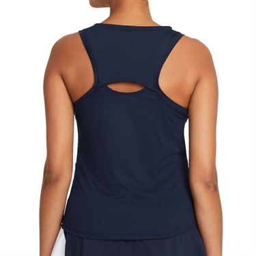 Nike Court Victory Tank Extended/Plus Size Womens Obsidian/White DB6605 451