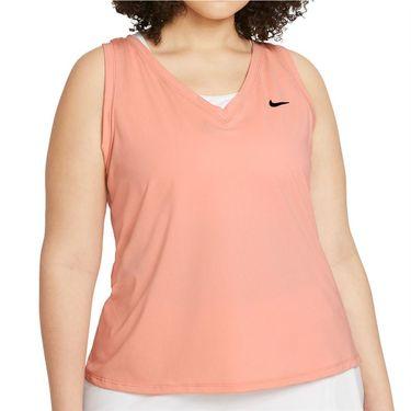 Nike Court Victory Tank Plus Size Womens Arctic Orange/Black DB6605 800