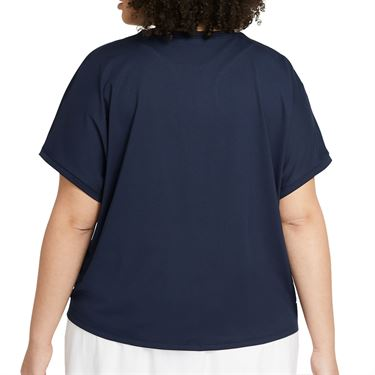 Nike Court Victory Top Extended/Plus Size Womens Obsidian/White DB6618 451