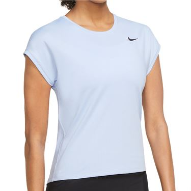 Nike Court Dri Fit Victory Top Extended/Plus Size Womens Aluminum/Black DB6618 468