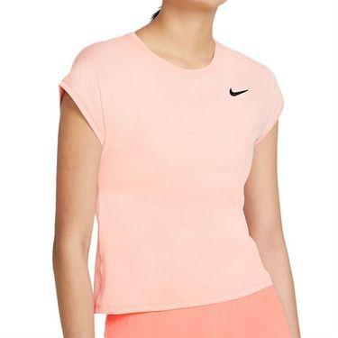 Nike Court Victory Top Plus Size Womens Arctic Orange/Black DB6618 800