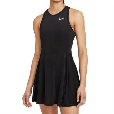 Nike Court Dri Fit Advantage Dress Plus Size Womens Black/White DB6630 011