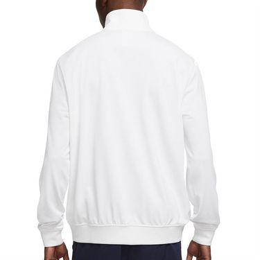 Nike Court Full Zip Jacket Mens White DC0620 100