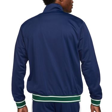 Nike Court Full Zip Jacket Mens Binary Blue/White/University Gold DC0620 429