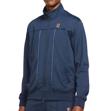 Nike Court Full Zip Jacket Mens Obsidian DC0620 451