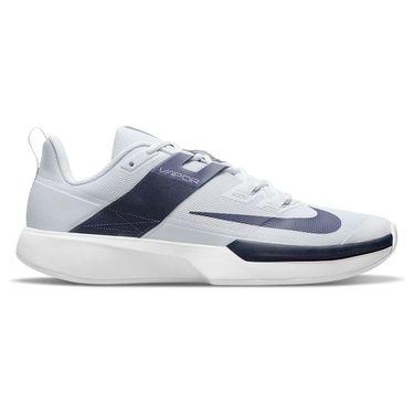 Nike Court Vapor Lite Mens Tennis Shoe Pure Platinum/Obsidian/White DC3432 007