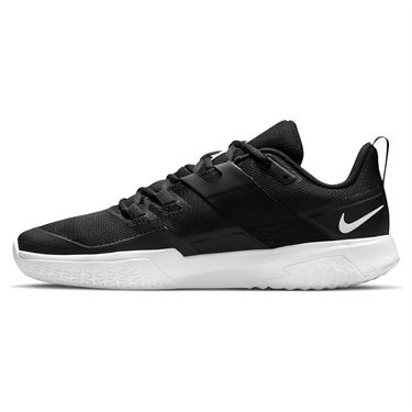 Nike Court Vapor Lite Mens Tennis Shoe Black/White DC3432 008