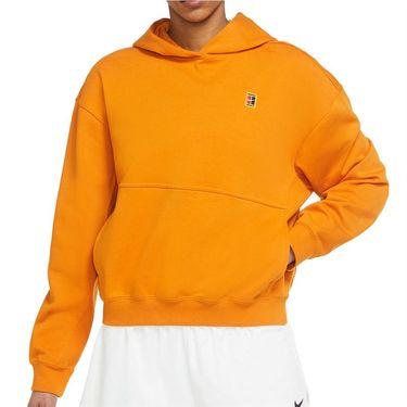 Nike Court Dri Fit Hoodie Womens Sunset DC3580 720