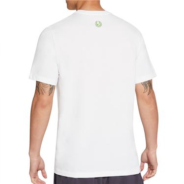 Nike Court Tee Shirt Mens White DC5376 100