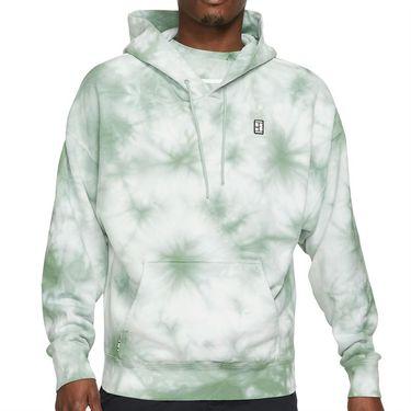 Nike Court Hoodie Mens White/Steam DC9684 101