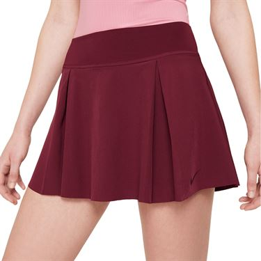 Nike Club Skirt Womens Dark Beetroot DD0341 638