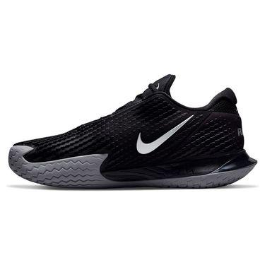 Nike Court Zoom Vapor Cage 4 Rafa Mens Tennis Shoe Black/Metallic Silver DD1579 001