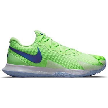 Nike Court Zoom Vapor Cage 4 Rafa Mens Tennis Shoe Lime Glow/Hyper Blue/White DD1579 333