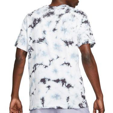 Nike Court Logo Tee Shirt Mens White/Black DD2238 100
