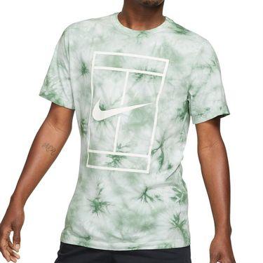 Nike Court Tee Shirt Mens White/Steam DD2238 101