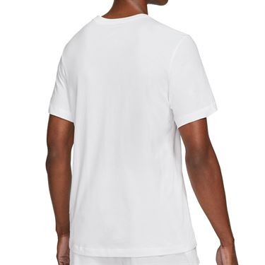 Nike Court Tee Shirt Mens White DD2250 100