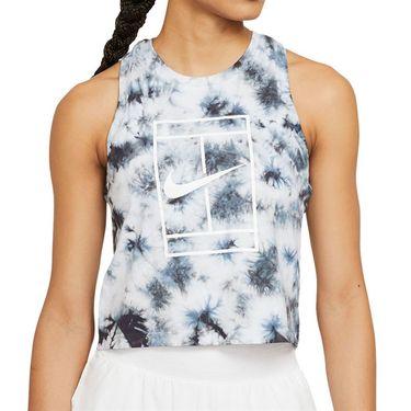 Nike Court Tank Womens White/Black DD2253 100