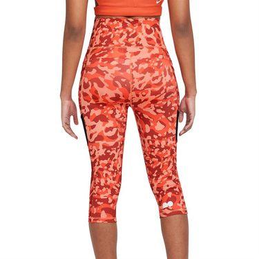 Nike Naomi Osaka Legging Womens Orange Frost/Black/White DD9312 835