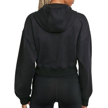 Nike Naomi Osaka Full Zip Hoodie Womens Black/White DD9319 010