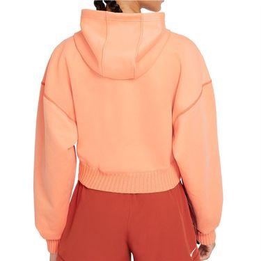 Nike Naomi Osaka Full Zip Hoodie Womens Orange Frost/White DD9319 835