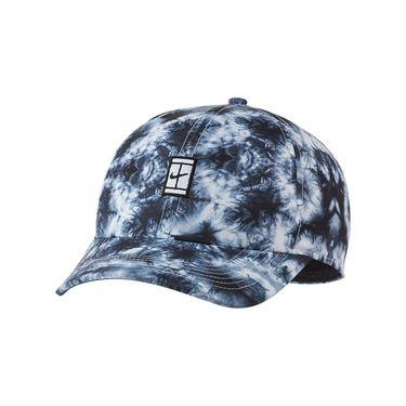 Nike Heritage 86 Court Logo Tennis Hat - Black/White