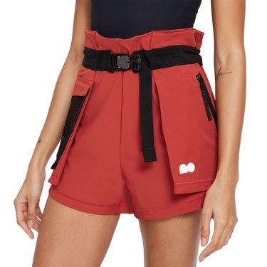 Nike Naomi Osaka Short Womens Cinnabar/White DH5197 671