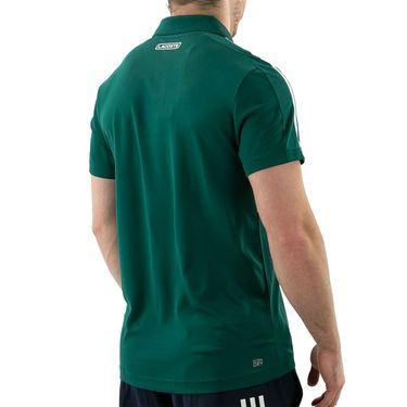 Lacoste Chemise Polo Shirt Mens Bottle Green/White DH9605 MWX