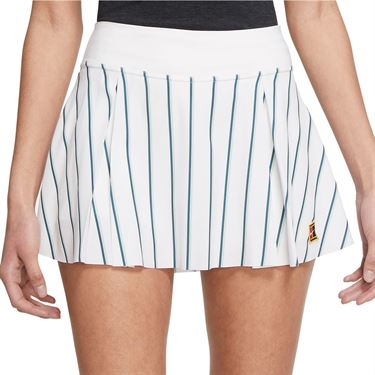 Nike Club Skirt Womens White/Gorge Green DJ2530 101