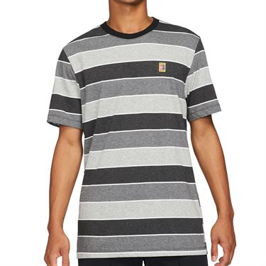 Nike Court Crew Shirt Mens Black DJ2592 010