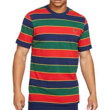 Nike Court Crew Shirt Mens Binary Blue DJ2592 429