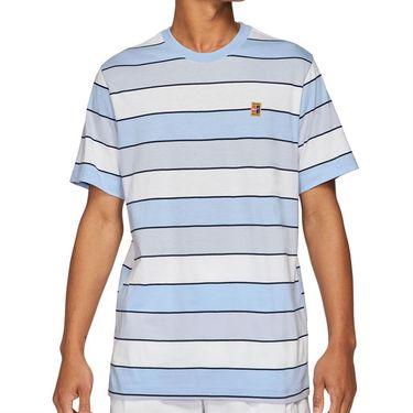 Nike Court Crew Shirt Mens Aluminum DJ2592 468