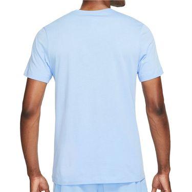 Nike Court Tee Shirt Mens Aluminum DJ2594 468