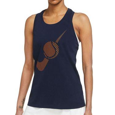 Nike Court Dri Fit Tank Womens Obsidian DJ2811 451