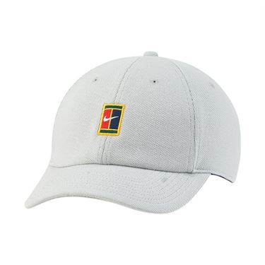 Nike Court Heritage 86 Hat - Grey Haze/Binary Blue