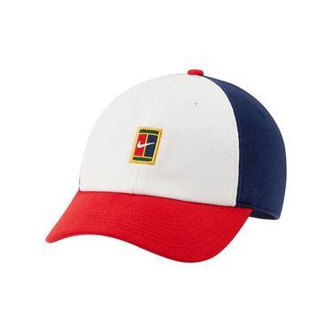 Nike Court Heritage 86 Hat - White/Binary Blue