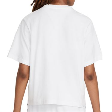 Nike Court Tee Shirt Womens White DJ6241 100