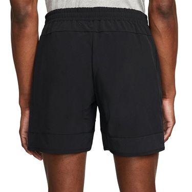 Nike Court Dri Fit Advantage Rafa Short Mens Black/Metallic Silver DM4286 010