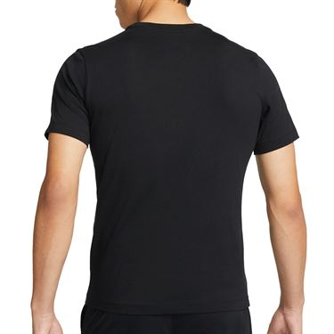 Nike Court Tee Shirt Mens Black DM8424 010