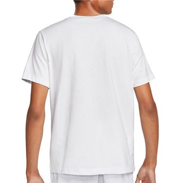 Nike Court Tee Shirt Mens White DM8424 100