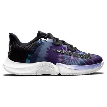 Nike Court Air Zoom Naomi GP Turbo Womens Tennis Shoe - Black/White/Dusty Amethyst
