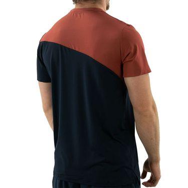 Ellesse Carrito Pro Crew Neck Shirt Mens Navy EM11246 NVY