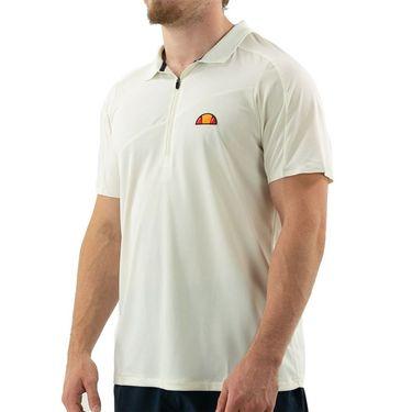 Ellesse Sicoli Pro Polo Shirt Mens White EM11248 OWT