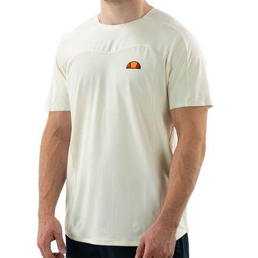 Ellesse Vanetti Pro Crew Neck Shirt Mens Off White EM11254 OWT