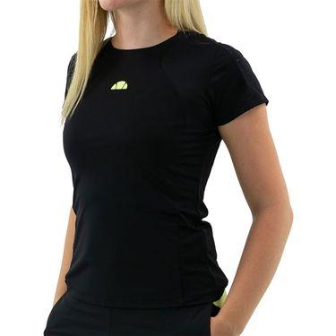 Ellesse Monita Cap Sleeve Top Wpmens Black EW11179 BLK