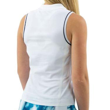 Ellesse Conchiglia Sleeveless Polo Womens White EW11870 100û