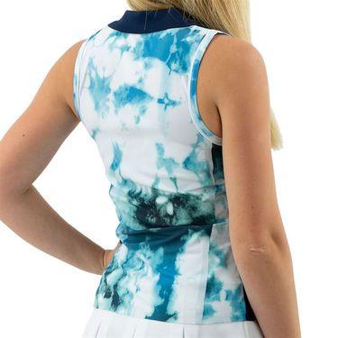 Ellesse Conchiglia Sleeveless Polo Womens All Over Print EW11870 990