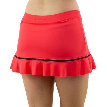 Inphorm Vibrant Mod Angelika Bottom Ruffle Skirt Womens Vibrant Red/Black F20012 0210û